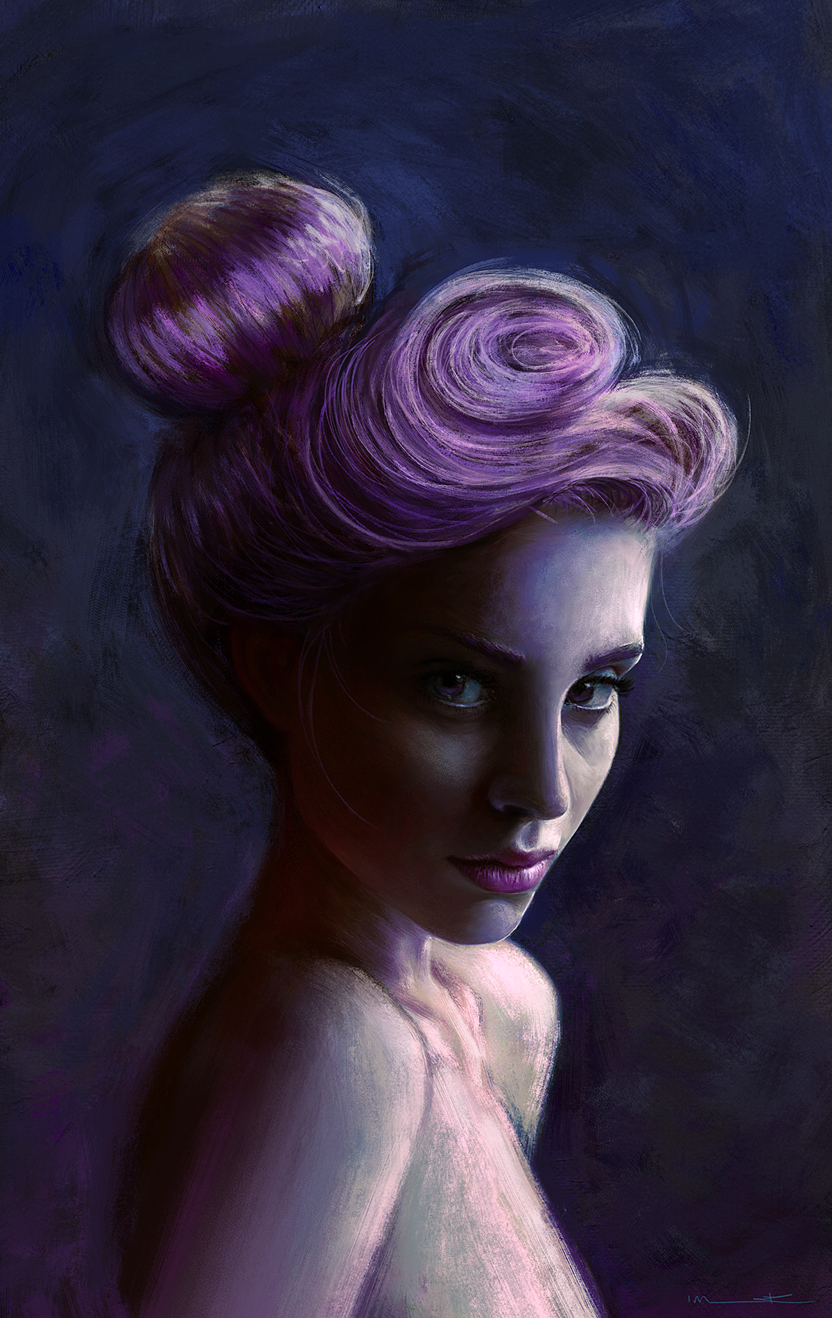 Violet by imorawetz