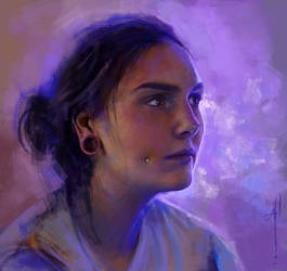 Self Portrait, December 2014 by imorawetz