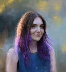 Self portrait, March 2015 by imorawetz