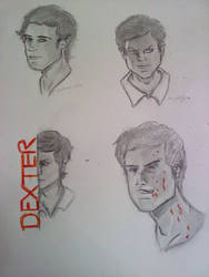 Dexter Character study 2010 by rhyod