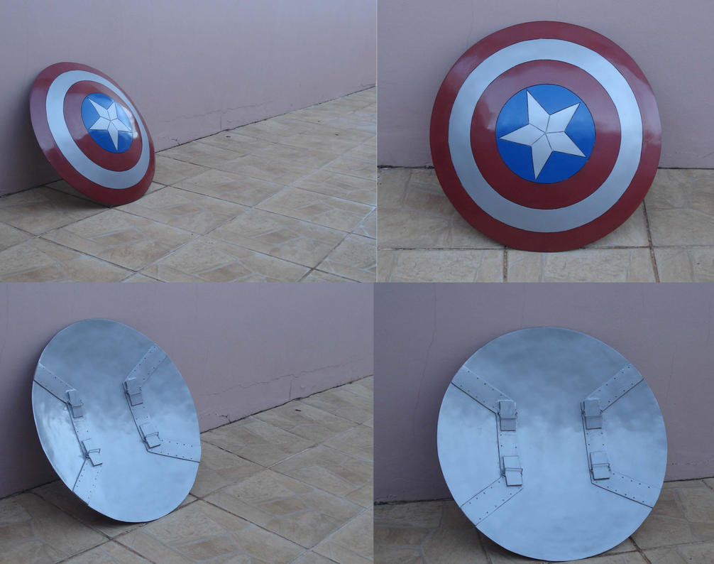 Captain America's shield by Regis-AND