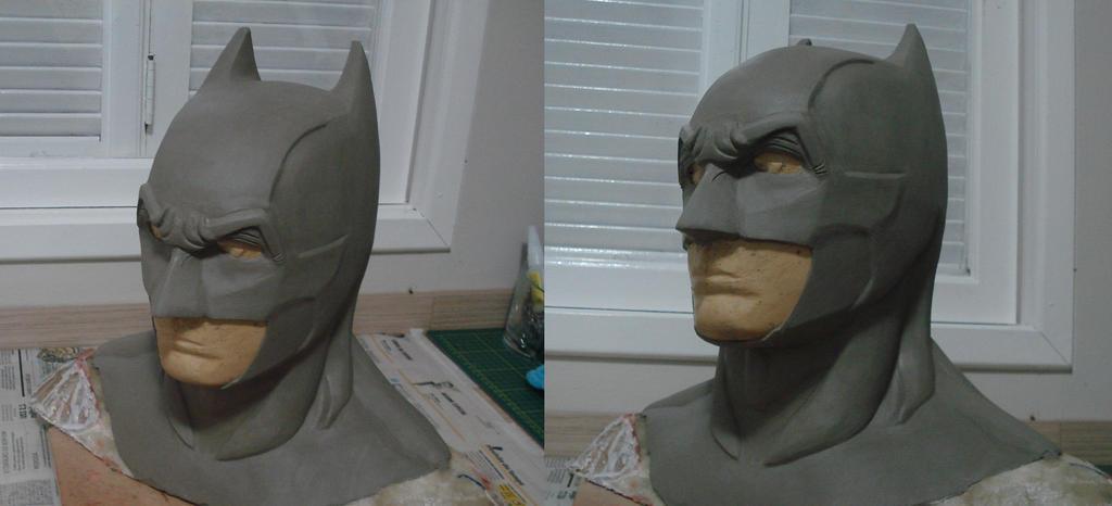 Batman bust - WIP by Regis-AND