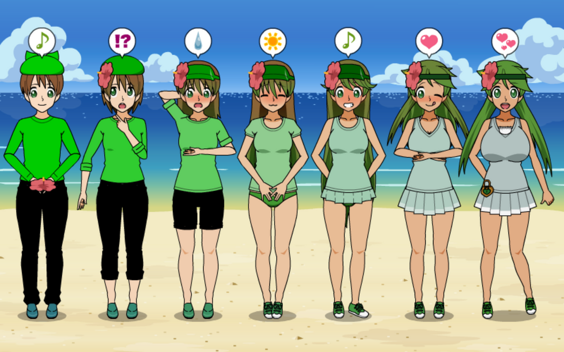 PokeTransformation 5! Mallow TF TG Sequence by greenflame456