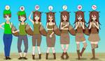 New Opportunities: Eevee Girl TF TG Sequences