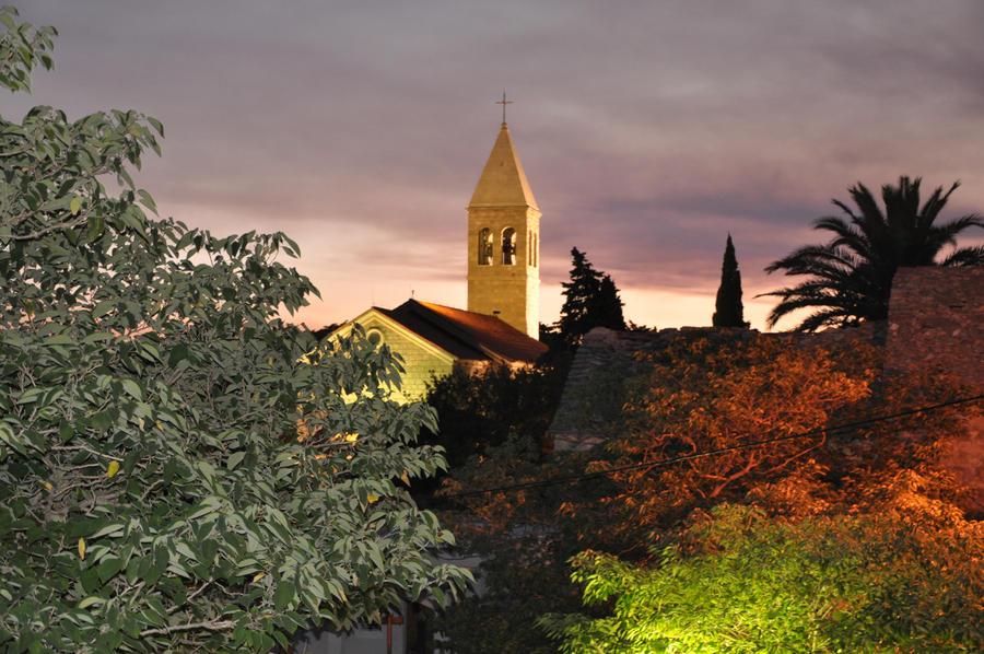 church in Brela by cikeno