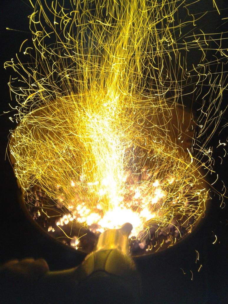 BBQ sparkles by cikeno