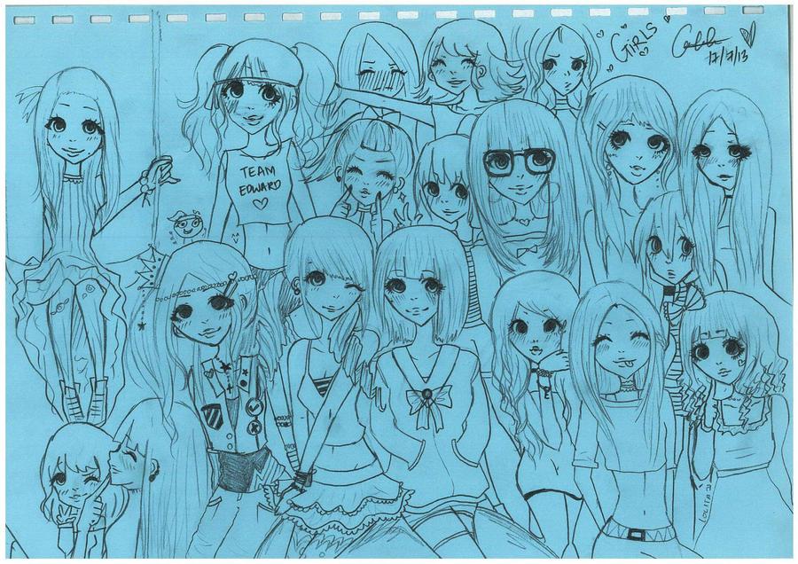 old drawing by AyakoKiity