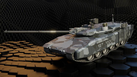 MBT-2020 Main Battle Tank by doug7070