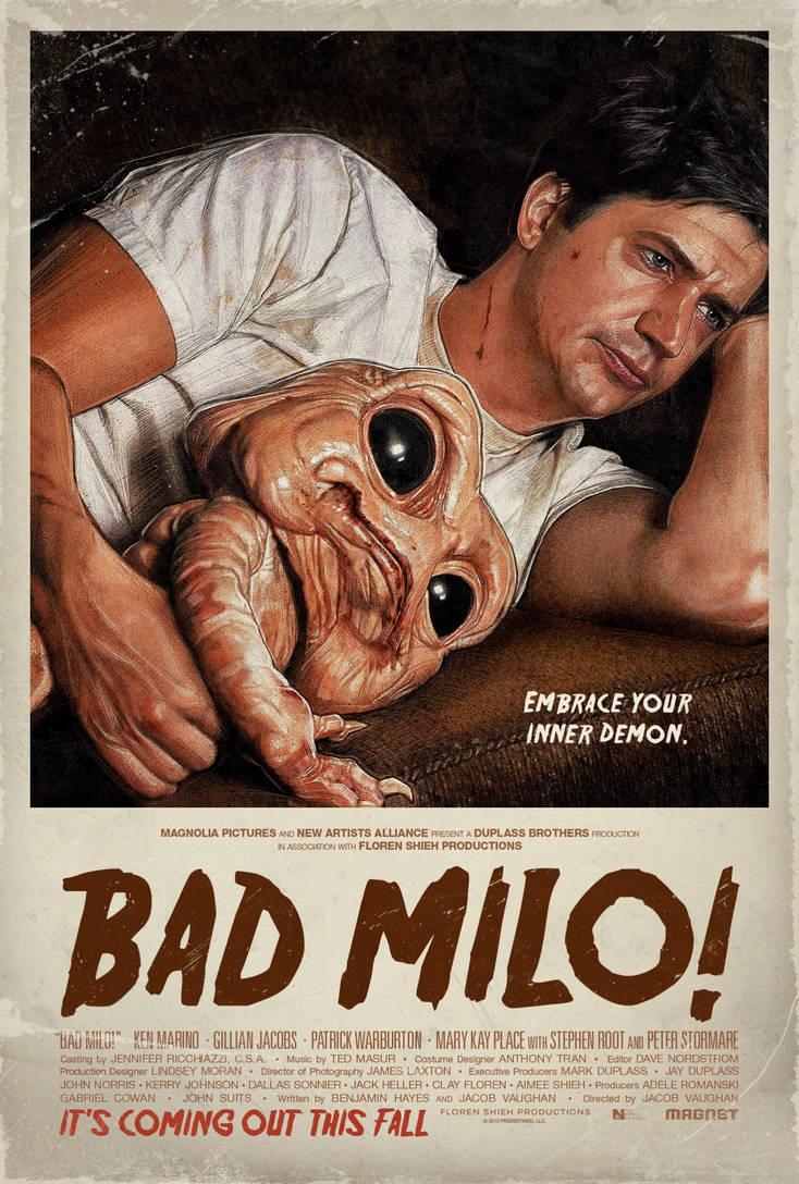 Bad Milo! by PaulShipper