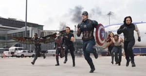 Wolverine on Team Cap