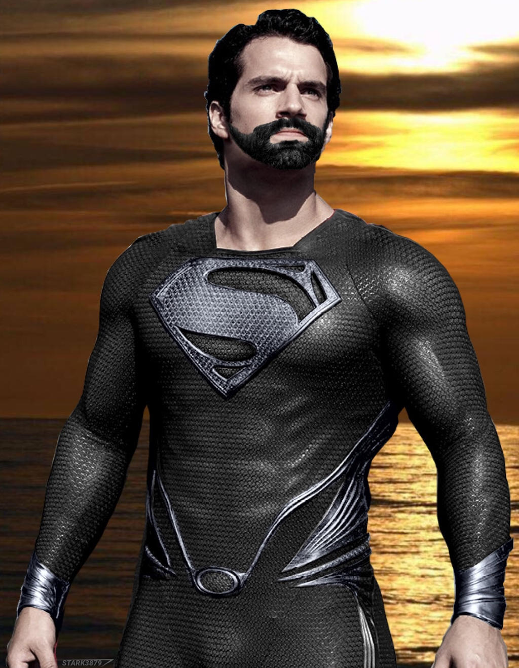 Superman Black Suit by Stark3879 on DeviantArt