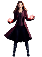Infinity War Scarlet Witch PNG by Stark3879