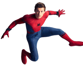 Infinity War Spider-Man PNG by Stark3879
