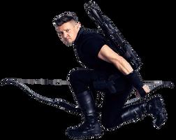 Infinity War Hawkeye PNG by Stark3879