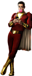 SHAZAM! PNG by Stark3879