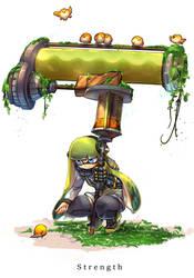 HeroMode:Arcana 08 Strength by hizake