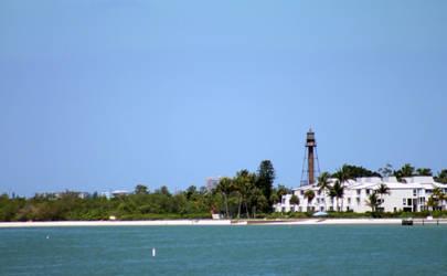 Sanibel Island Lighthouse by DavidDeFino