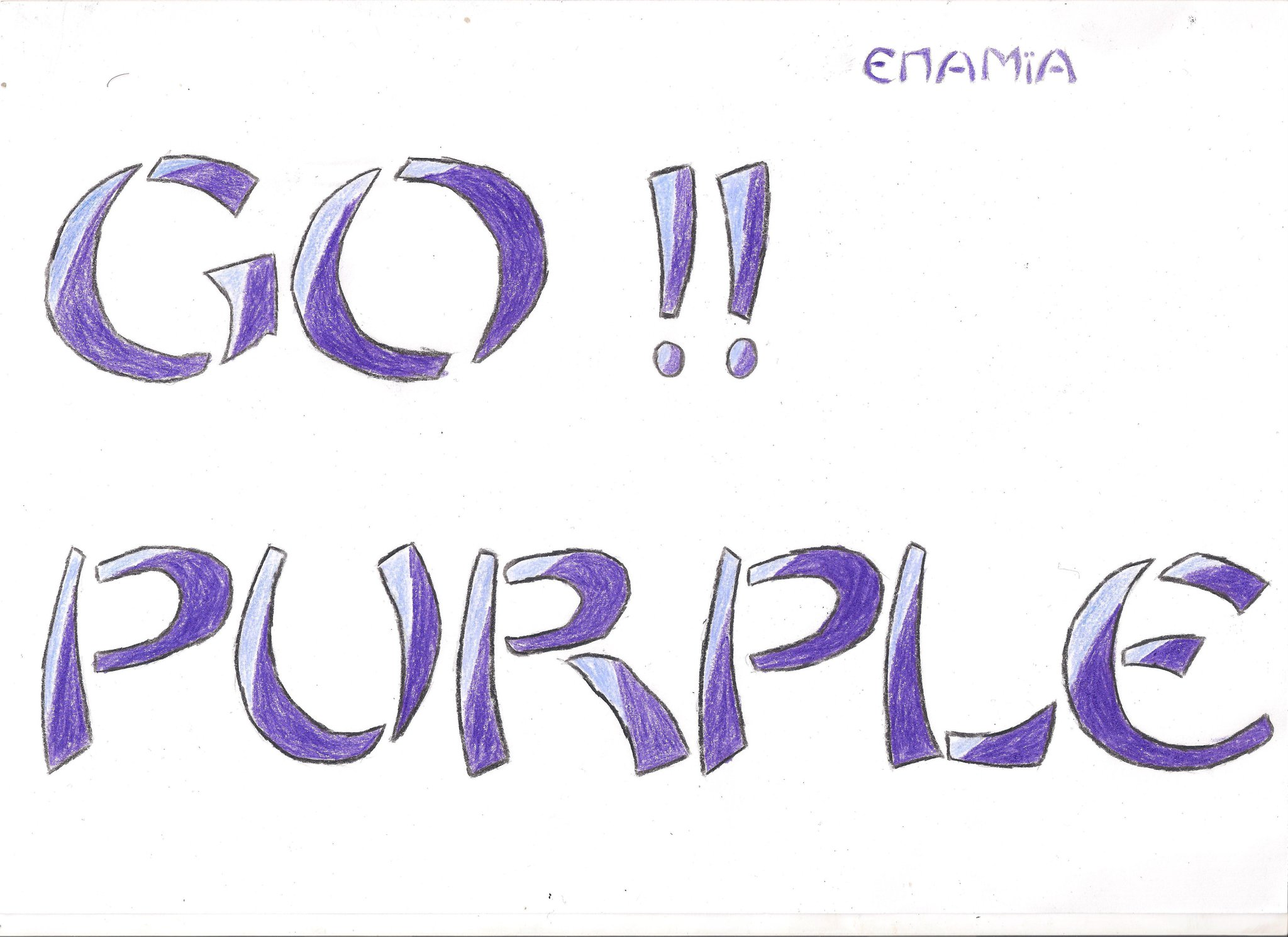 go purple my favorite color xd enamia by xxxaimanexxx on deviantart. Black Bedroom Furniture Sets. Home Design Ideas