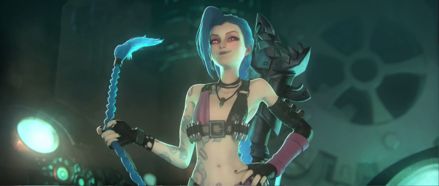 Get jinxed porn music video with a hot jinx cosplayer 8