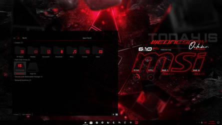 Desk ScreenShot_ MSi GE75 Raider by Sc0uT10