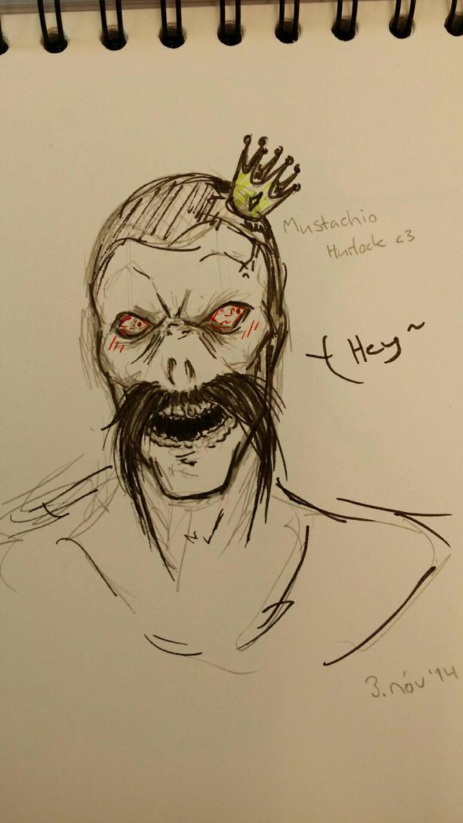 Hurlock: Mustachio  by WolfOfDarkness12
