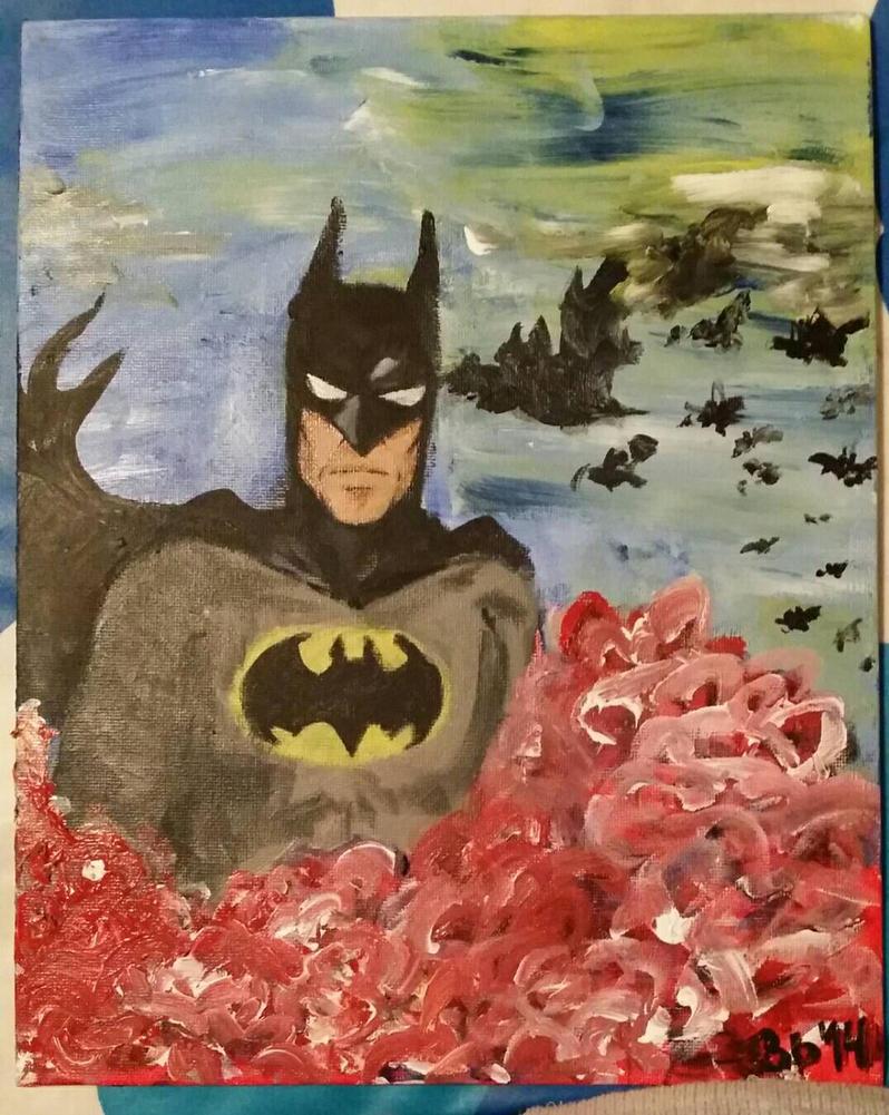 Batman  by WolfOfDarkness12