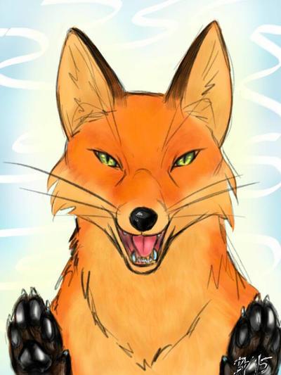 Fox by WolfOfDarkness12