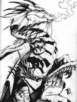 Dragon - Inked by elasticdragon