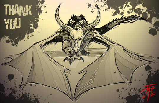 Bowing Dragon