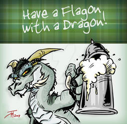 Have a Flagon with a Dragon..
