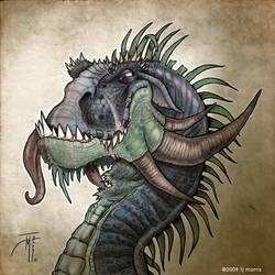 Tonguey Dragon - FINISHED