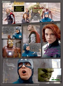 Astronaut Cafe vs Avengers - Call it, Cap'n