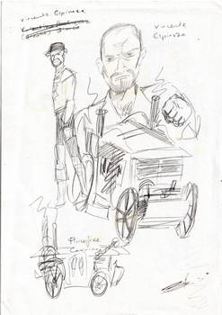 Sketch 4 Vincente Espinoza Golden Age Fluxus