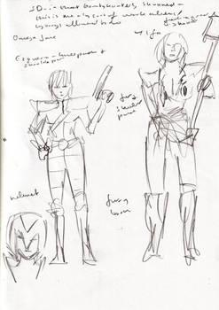 Sketch 5 Bounty Hunters