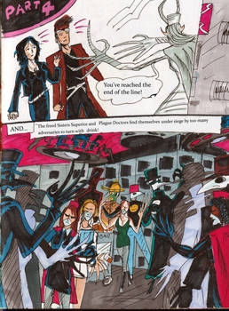 Fixer and the Plague Doctors lettered page31
