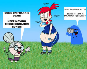 Frankie works out by randomuser888