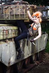 Tank Girl by ulorinvex