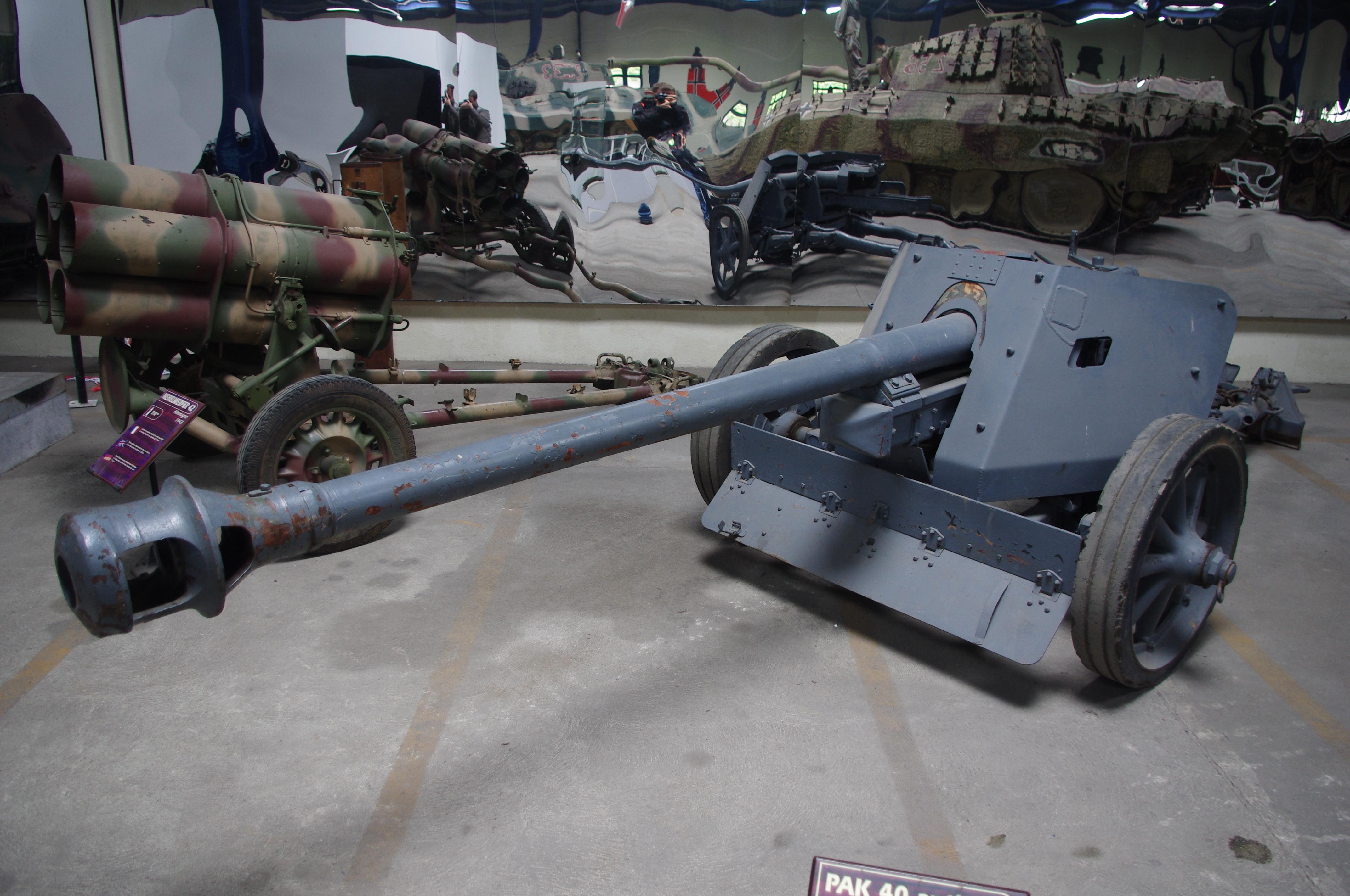 German 50 Mm Anti Tank Gun: Pak 40 75mm AT Gun By Urielventis On DeviantArt