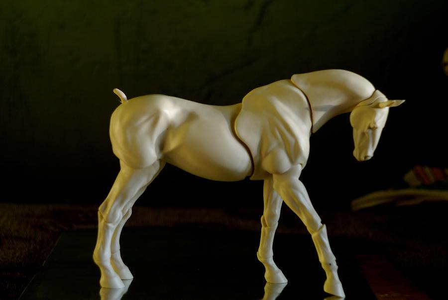 BJD horse by SilentCreatures