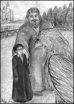 Helping Hagrid out