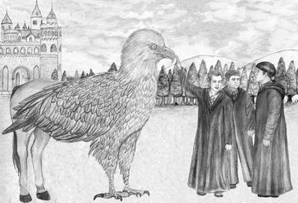 Never make fun of a Hippogriff