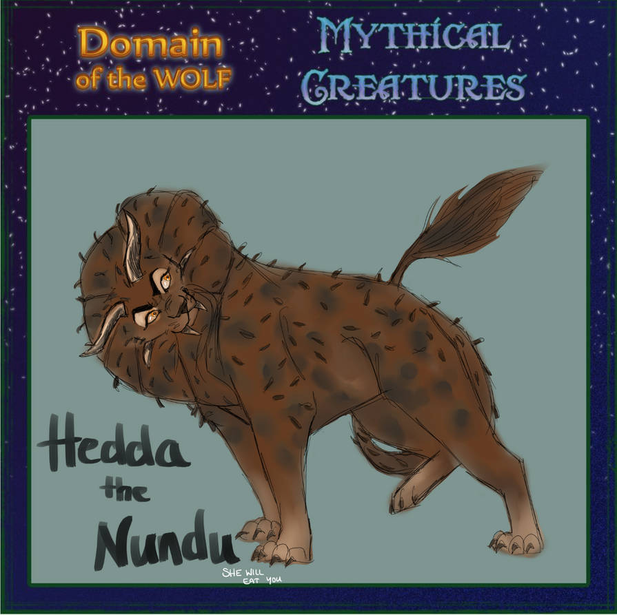 Hedda | Mythical Beasts Meme by Rodwendess