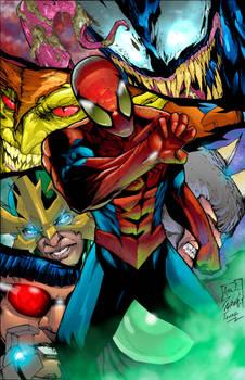 Color Spiderman