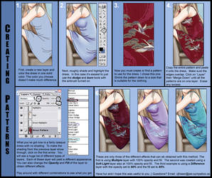 Clothing patterns by tutorial