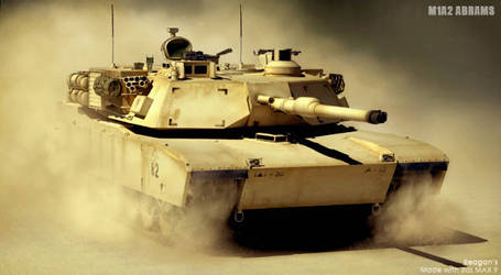 M1a2 Abrams by Chiefregent