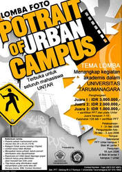 portrait of urban campus postr by Chiefregent