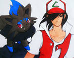 Request: Ash and Zorua