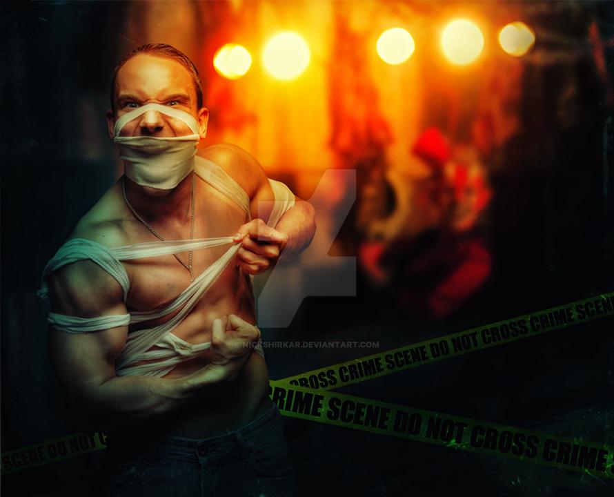 Crime Scene by Nickshirkar
