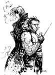 Gambit and Wolverine smoke you
