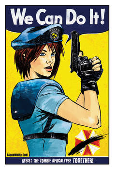 Jill Valentine 'We Can Do It'
